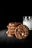 Fresh Milk And Cookies Royalty Free Stock Photography