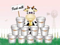 Fresh milk Stock Image