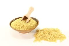Fresh Millet Stock Image