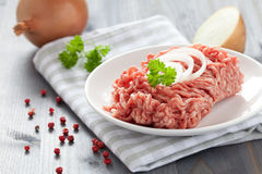Fresh minced meat Royalty Free Stock Photos