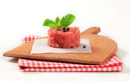 Fresh minced meat Stock Image