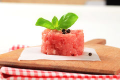 Fresh minced meat Stock Photography
