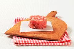Fresh minced meat Stock Images