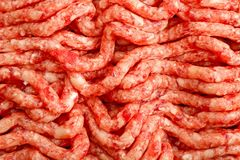 Minced meat seamless pattern. Fresh Minced meat seamless texture. Close up royalty free stock images