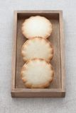 Fresh mini apple pies Stock Image