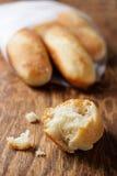 Fresh mini baguettes Royalty Free Stock Image