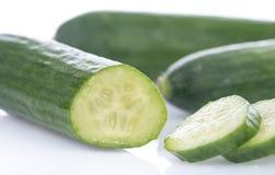 Fresh mini cucumbers Stock Image