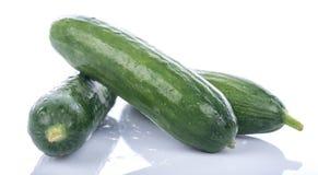 Fresh mini cucumbers Royalty Free Stock Image