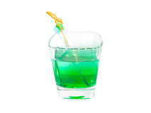 Fresh mint drink with sugar Stock Photos