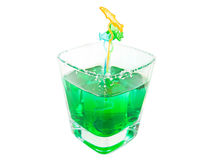 Fresh mint drink with sugar Royalty Free Stock Image