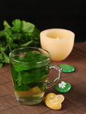 Fresh Mint Tea Royalty Free Stock Images