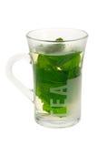 Fresh mint tea Stock Images