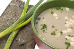 Fresh Miso Soup Stock Photo