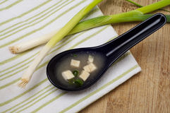 Fresh Miso Soup Royalty Free Stock Image