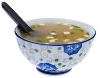 Fresh Miso Soup Royalty Free Stock Photo