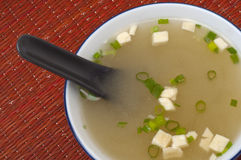 Fresh Miso Soup Royalty Free Stock Images