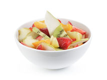 Fresh mix fruit salad with strawberry, kiwi and Stock Photography