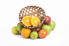 Fresh mix fruits Stock Image