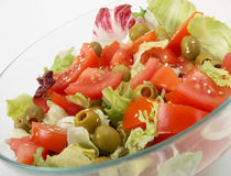 Fresh mix salad Stock Image