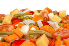 Fresh mix vegetables Stock Image