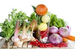 Fresh Mix vegetables. Chili style Royalty Free Stock Image