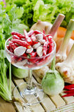 Fresh Mix vegetables. Chili style Stock Photos