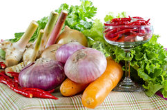 Fresh Mix vegetables Royalty Free Stock Images