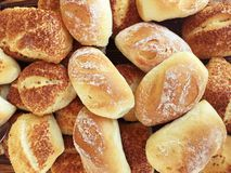 Fresh mixed bread Royalty Free Stock Image