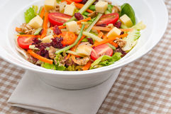 Fresh colorful healthy salad Stock Photos