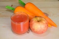 Fresh mixed fruit juice Royalty Free Stock Photography
