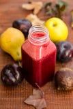 Fresh mixed fruit juice Stock Image