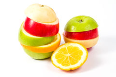 Fresh mixed fruit Royalty Free Stock Image