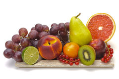 Fresh mixed fruits stock photography
