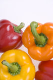Fresh Mixed Peppers Royalty Free Stock Image