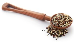 Fresh mixed quinoa Royalty Free Stock Images