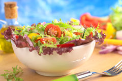 Fresh Mixed Salad Stock Photos