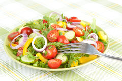 Fresh mixed salad Royalty Free Stock Image