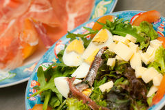 Fresh mixed salad Royalty Free Stock Images
