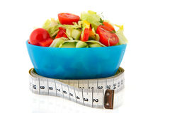 Fresh mixed salad for diet royalty free stock photo