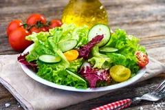 Fresh mixed salad Royalty Free Stock Image