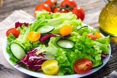 Fresh mixed salad Stock Image