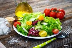 Fresh mixed salad Stock Photography