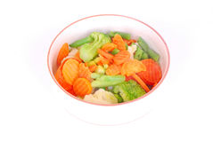 Fresh mixed vegetables Royalty Free Stock Photos