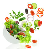 Fresh mixed vegetables Royalty Free Stock Photography