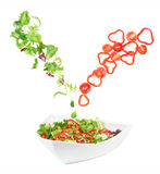 Fresh mixed vegetables Stock Images
