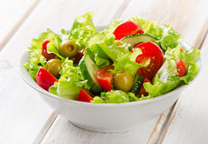 Fresh mixed vegetables salad Stock Photo