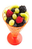 Fresh mixture of fruit Royalty Free Stock Photography
