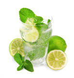 Fresh mojito closeup Royalty Free Stock Photos