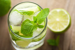 Fresh mojito cocktail Stock Image