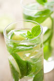 Fresh mojito cocktail Stock Photo